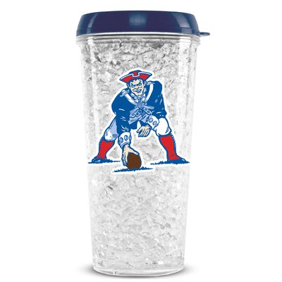 NFL Crystal Insulated Tumbler NFL Team: New England Patriots CMFBNEPTUMT
