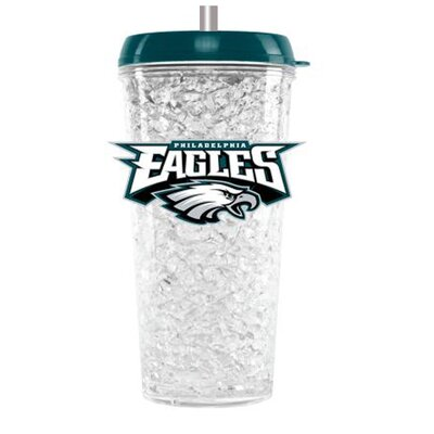 NFL Crystal Insulated Tumbler NFL Team: Philadelphia Eagles CMFBPHIT