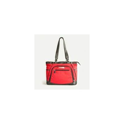 Sellwood Metro Laptop Tote Bag Color: Red