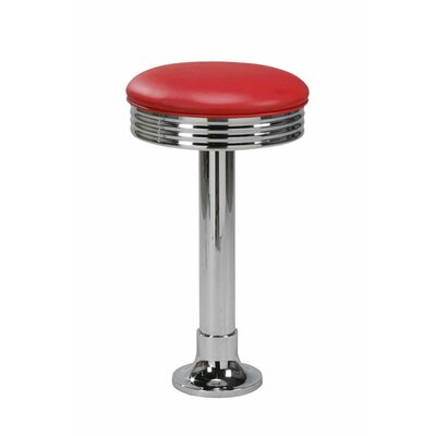 Swivel Bar Stool Upholstery: Floridian Red, Seat Height: 30