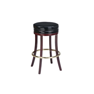 Bar Stool Seat Height: 26 inch, Finish: Black