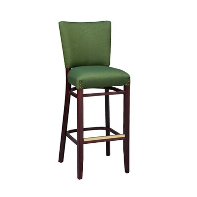 Bar Stool Finish: Black, Seat Height: 24 inch