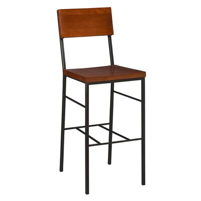 30 inch Bar Stool Finish: Mahogany