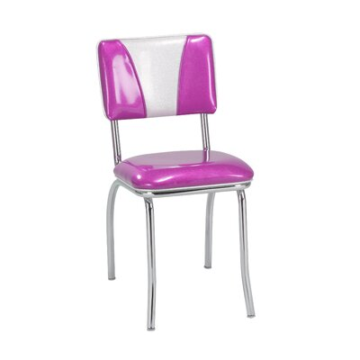 Side Chair Upholstery: Fuschia