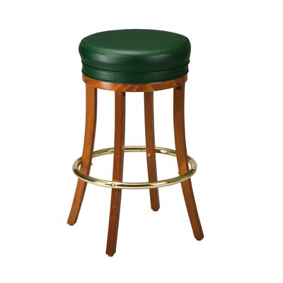Bar Stool Finish: Mahogany, Seat Height: 26 inch