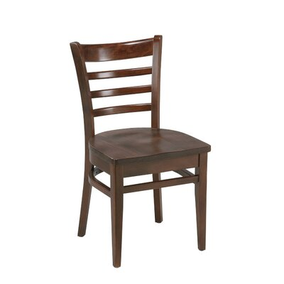 Amoroso Beechwood Ladder Back Seat Solid Wood Dining Chair