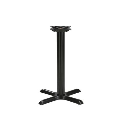 In store financing Black Steel Table Base with Stainle...