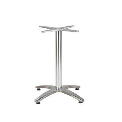 No credit check financing Silver Finish Table Base with Custo...