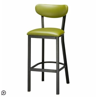 Audel 30 Bar Stool Upholstery: Green