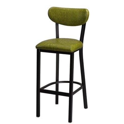Audel 30 Bar Stool Upholstery: Moss Laredo