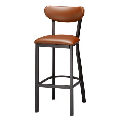 Audel 30 Bar Stool Upholstery: Burnt Sienna