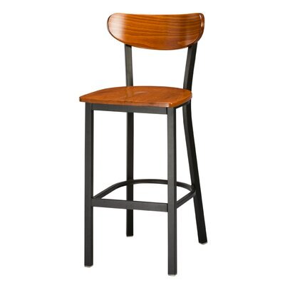 Sebastian 30 Bar Stool Color: Cherry