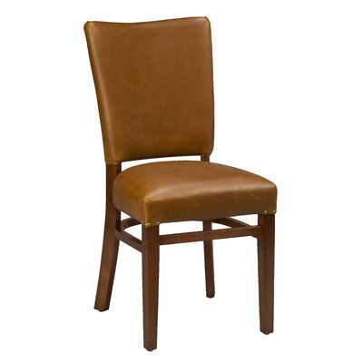 Chesebrough Beechwood Fully Seat Upholstered Dining Chair