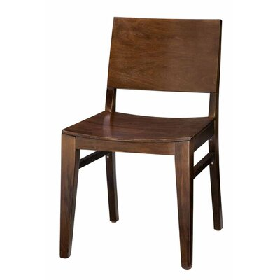 Tipping Beechwood Back Solid Wood Seat Dining Chair