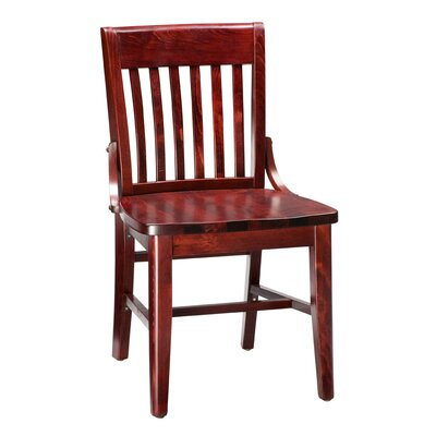 Amoroso Beechwood School House Solid Wood Seat Dining Chair