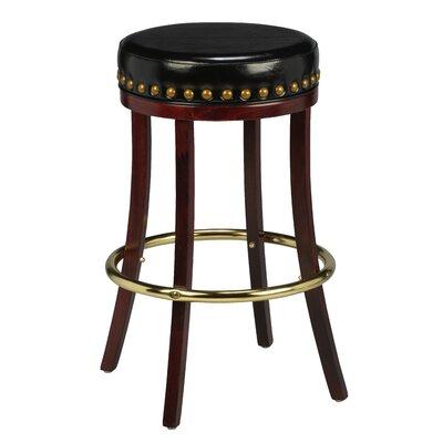 Amoroso Beechwood Backless Bar Stool Seat Height: 26