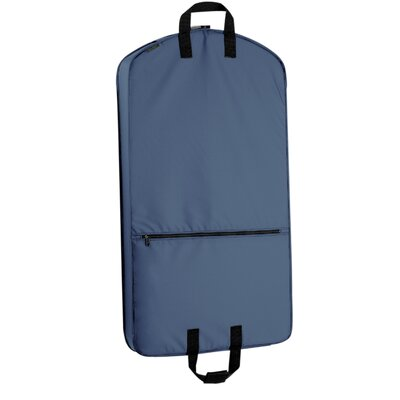 "Wally Bags 42"" Suit Length Garment Bag with Pocket - Color: Navy at Sears.com"
