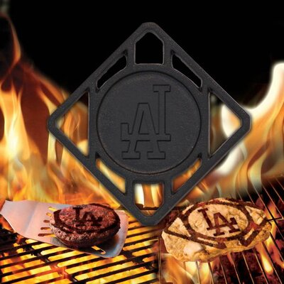 MLB Single BBQ Branders MLB Team: Los Angeles Dodgers