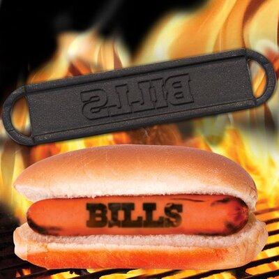 NFL Hot Dog BBQ Branders NFL Team: Buffalo Bills