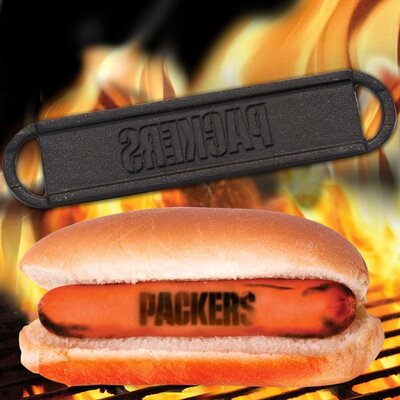 NFL Hot Dog BBQ Branders NFL Team: Green Bay Packers