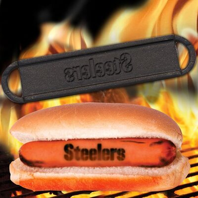 NFL Hot Dog BBQ Branders NFL Team: Pittsburgh Steelers