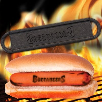 NFL Hot Dog BBQ Branders NFL Team: Tampa Bay Buccaneers