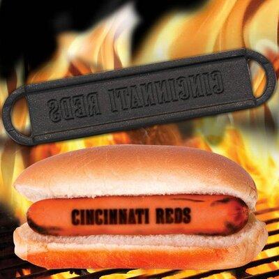 MLB Hot Dog BBQ Branders MLB Team: Cincinnati Reds