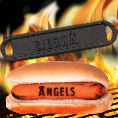 MLB Hot Dog BBQ Branders MLB Team: Los Angeles Angels of Aneheim