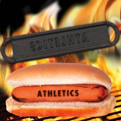 MLB Hot Dog BBQ Branders MLB Team: Oakland Athletics