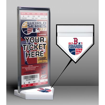World Series Champions Ticket Display Stand bbosst07ws
