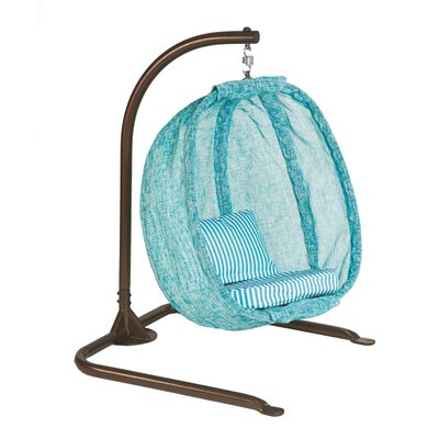Blue Junior Swing Chair with Stand