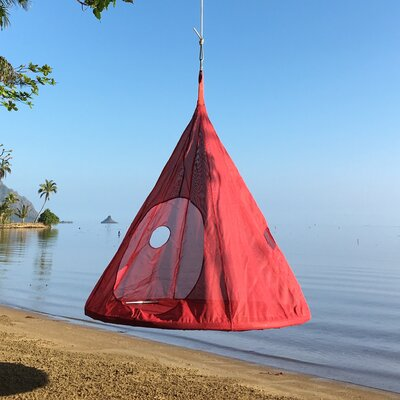 TearDrop Tree Hammock Color: Red