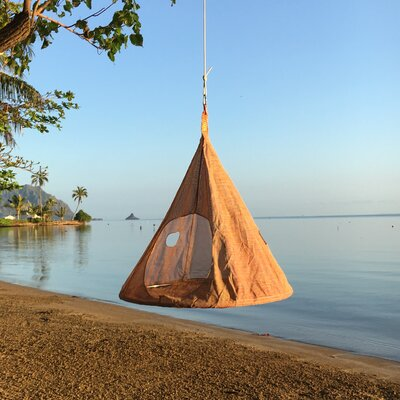 TearDrop PVC Chair Hammock Color: Candy