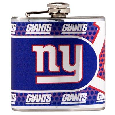 NFL Stainless Steel Flask NFL Team: New York Giants 44575