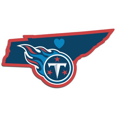 NFL Home State Decal NFL Team: Tennessee Titans Home 46843