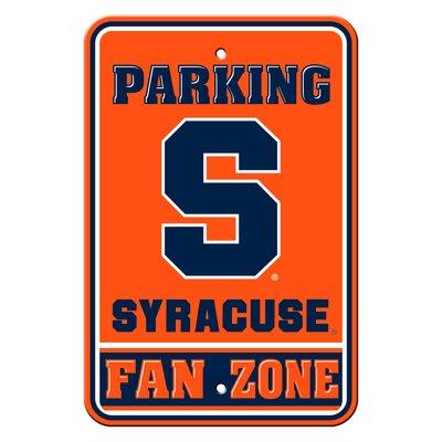 NCAA Plastic Parking Sign NCAA Team: Syracuse University