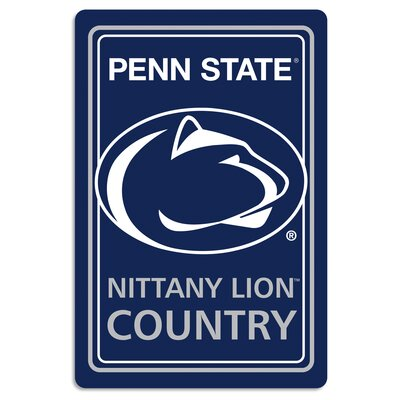 NCAA Metal Parking Sign NCAA Team: Pennsylvania State University