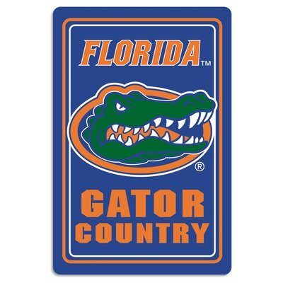 NCAA Metal Parking Sign NCAA Team: University of Florida