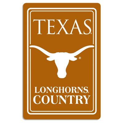 NCAA Metal Parking Sign NCAA Team: University of Texas at Austin