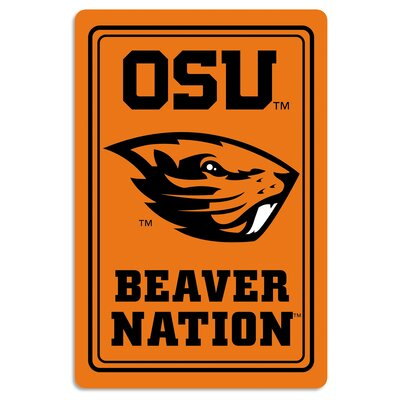 NCAA Metal Parking Sign NCAA Team: Oregon State University