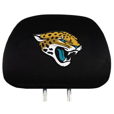 NFL Headrest Cover NFL Team: Jacksonville Jaguars