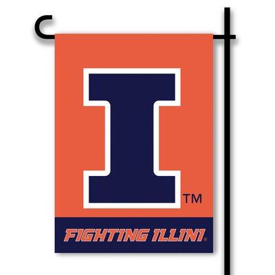NCAA 2-Sided 1'6 x 1 ft. Garden Flag NCAA Team: Illinois Fighting Illini 83141