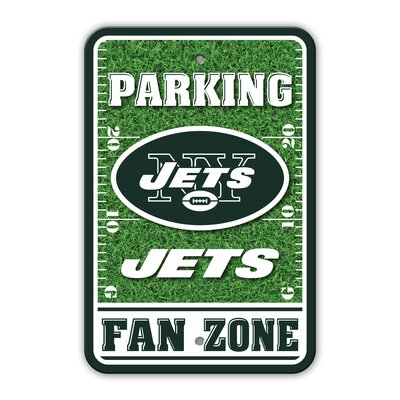 NFL Plastic Fan Zone Parking Sign NFL Team: New York Jets