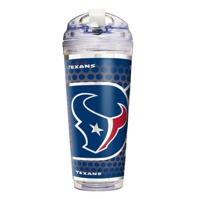 NFL Acrylic 24 oz. Insulated Tumbler NFL Team: Houston Texans 79763