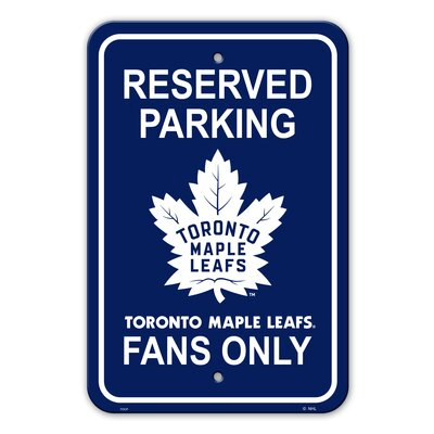 NHL Plastic Parking Sign NHL Team: Arkansas State University