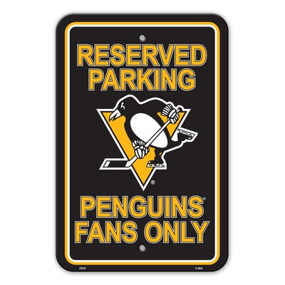 NHL Plastic Parking Sign NHL Team: Texas State University