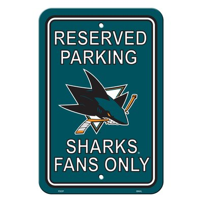 NHL Plastic Parking Sign NHL Team: University of Houston