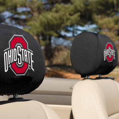 NCAA Headrest Cover NCAA Team: Ohio State Buckeyes