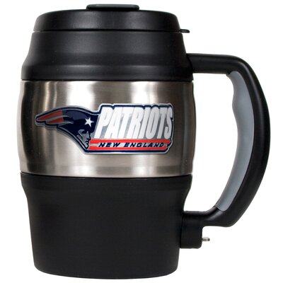 NFL Thermal 20 oz. Insulated Tumbler NFL Team: New England Patriots 75411