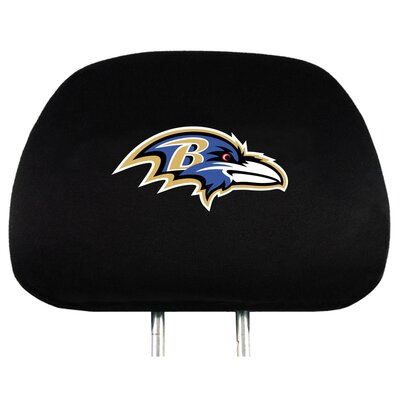 NFL Headrest Cover NFL Team: Baltimore Ravens
